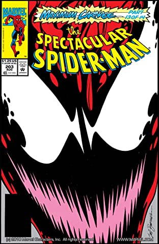 Peter Parker, The Spectacular Spider-Man (1976-1998) No.203