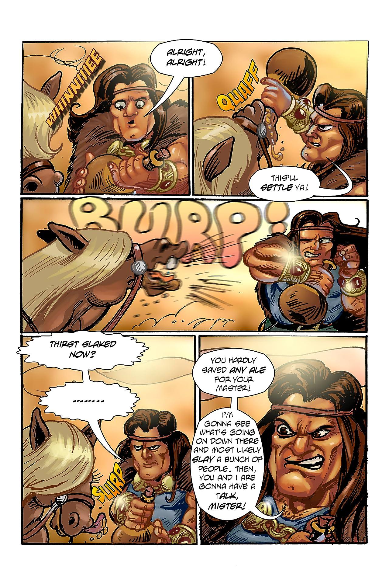 The Bantam Barbarian #1