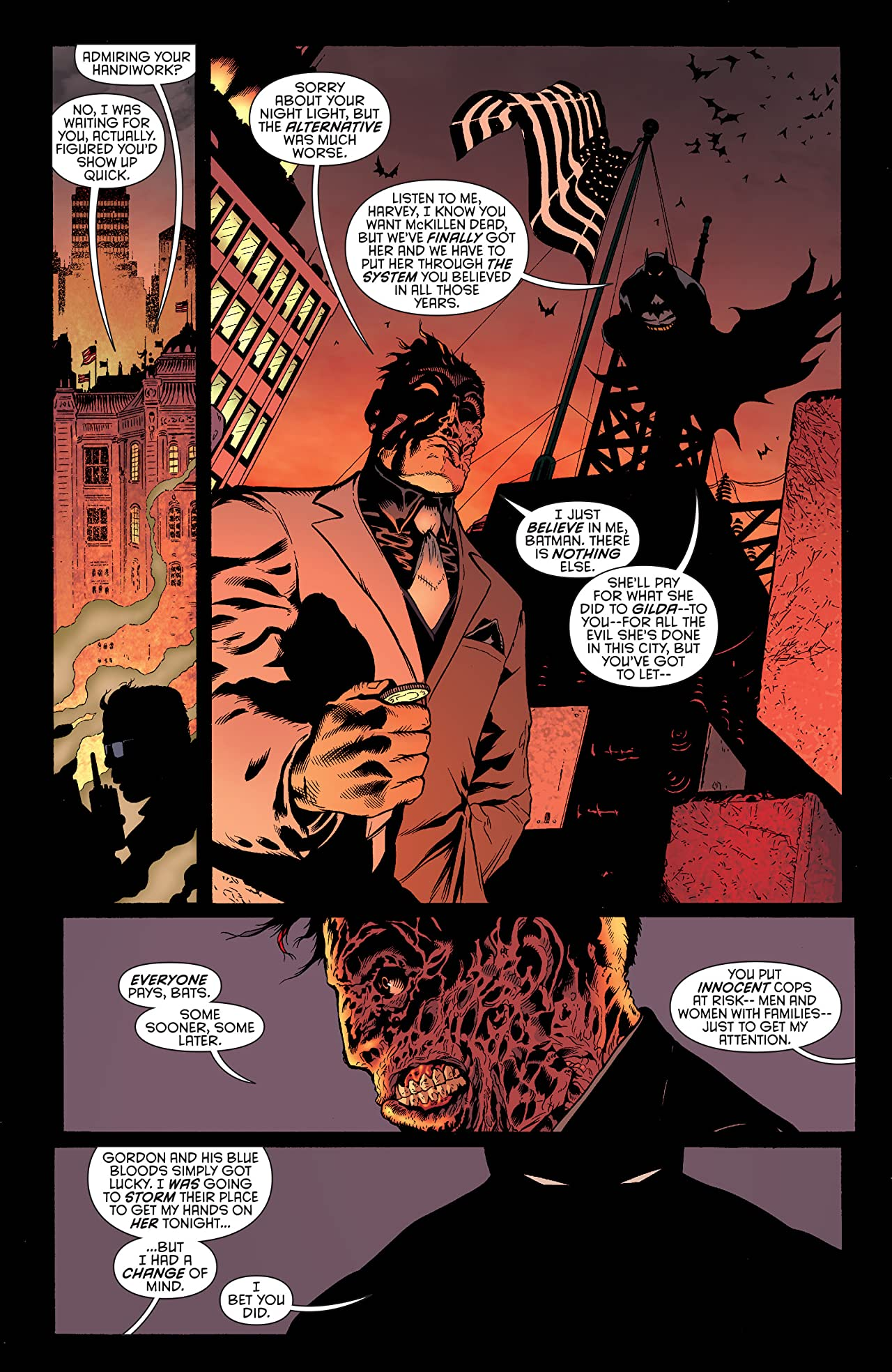Batman and Robin (2011-2015) #25: Two-Face