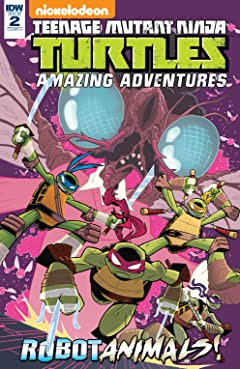 Teenage Mutant Ninja Turtles: Amazing Adventures: Robotanimals! #2 (of 3)