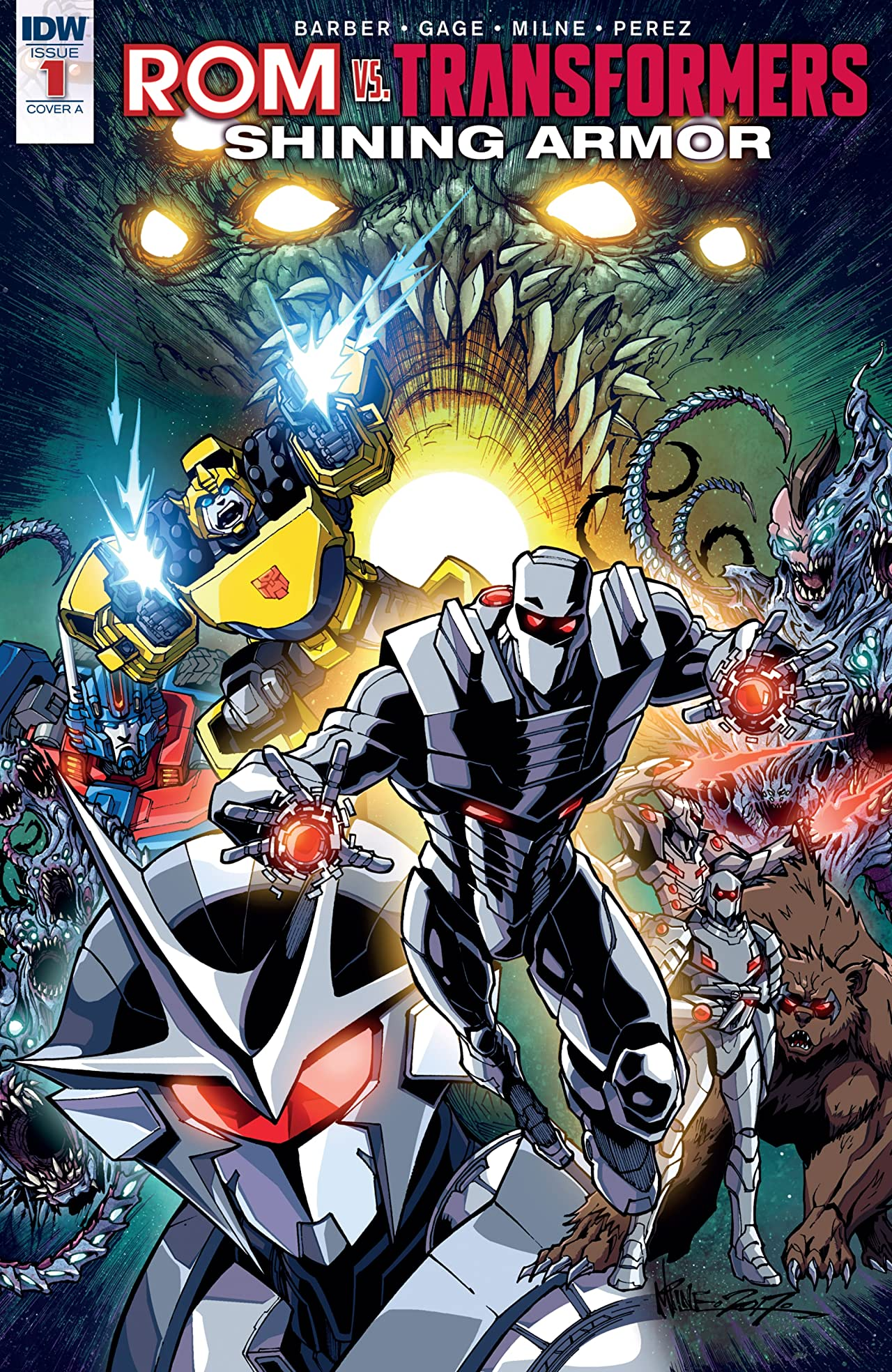 ROM vs. Transformers: Shining Armor #1