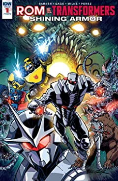 ROM vs. Transformers: Shining Armor #1