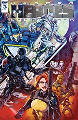 Hasbro Heroes Sourcebook #3 (of 3)