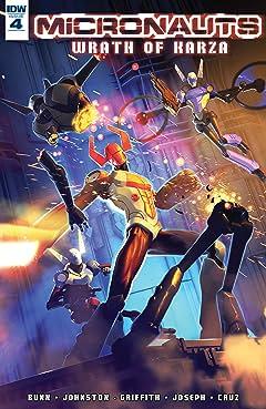Micronauts: Wrath of Karza #4 (of 5)