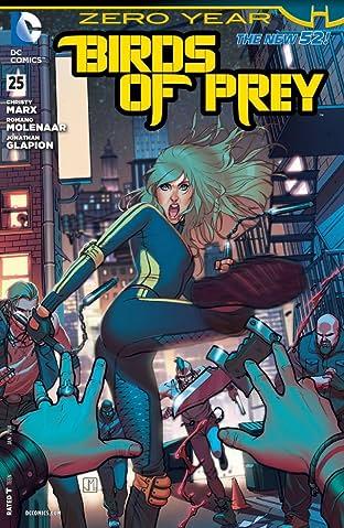 Birds of Prey (2011-2014) #25