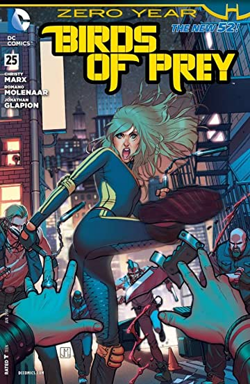 Birds of Prey (2011-2014) #25