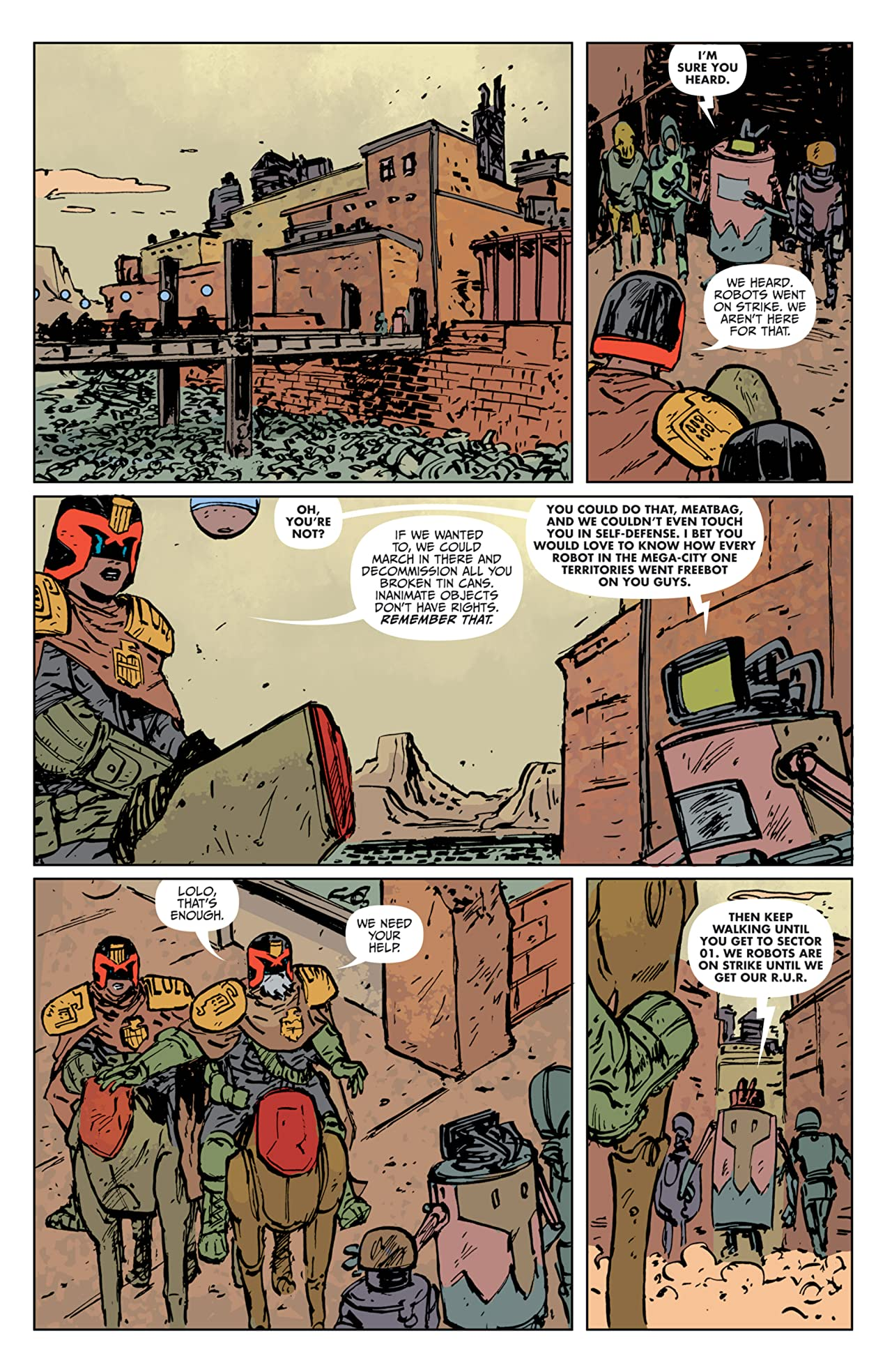 Judge Dredd: The Blessed Earth #4
