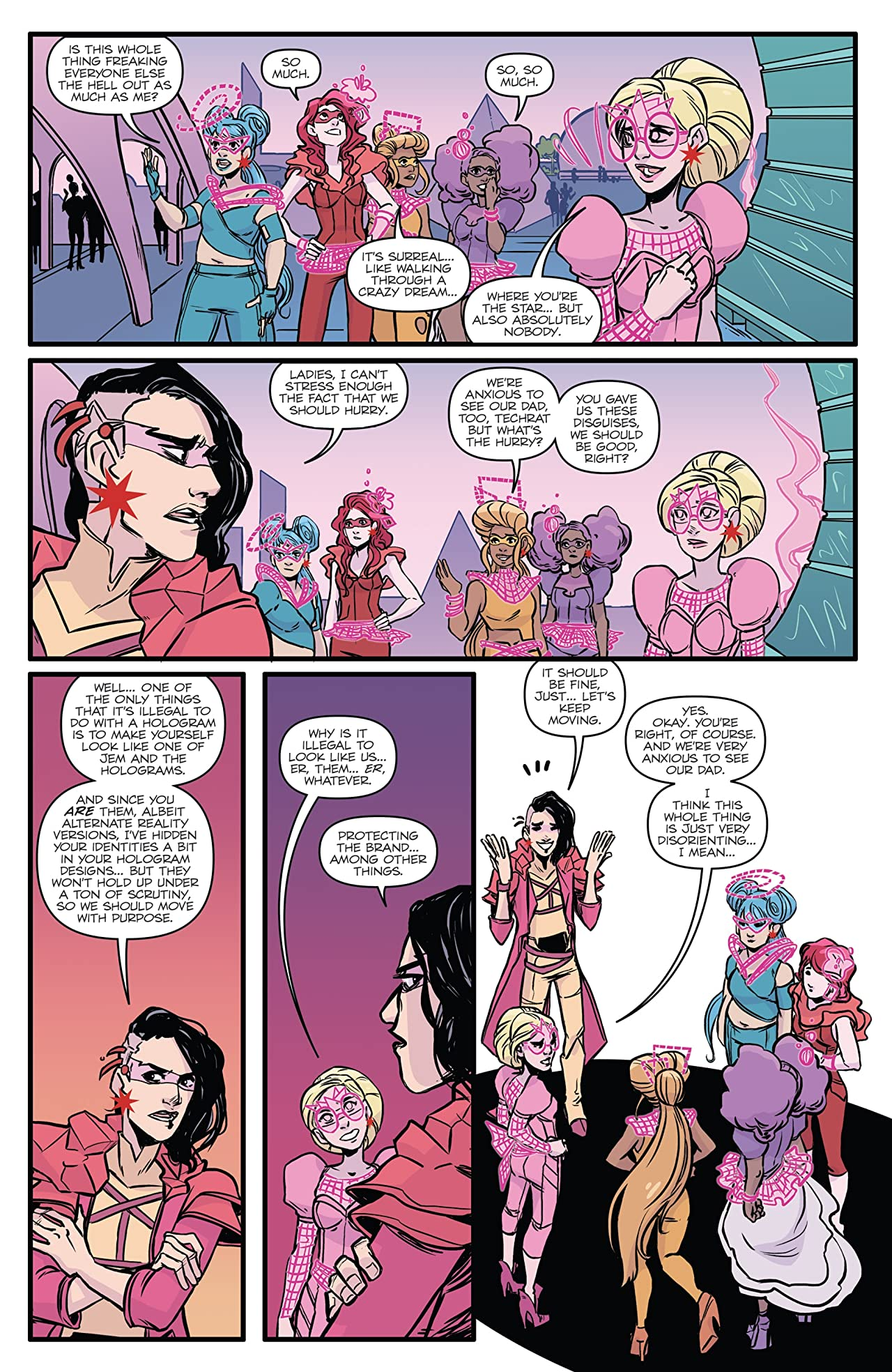 Jem and the Holograms: Infinite #2