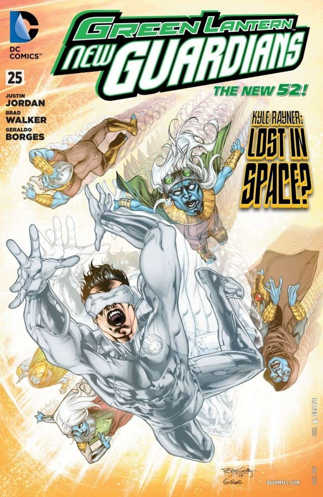 Green Lantern: New Guardians (2011-2015) #25