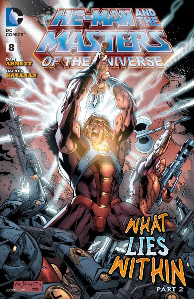He-Man and the Masters of the Universe (2013-) #8