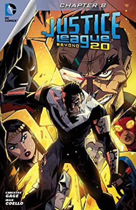 Justice League Beyond 2.0 (2013-2014) #8
