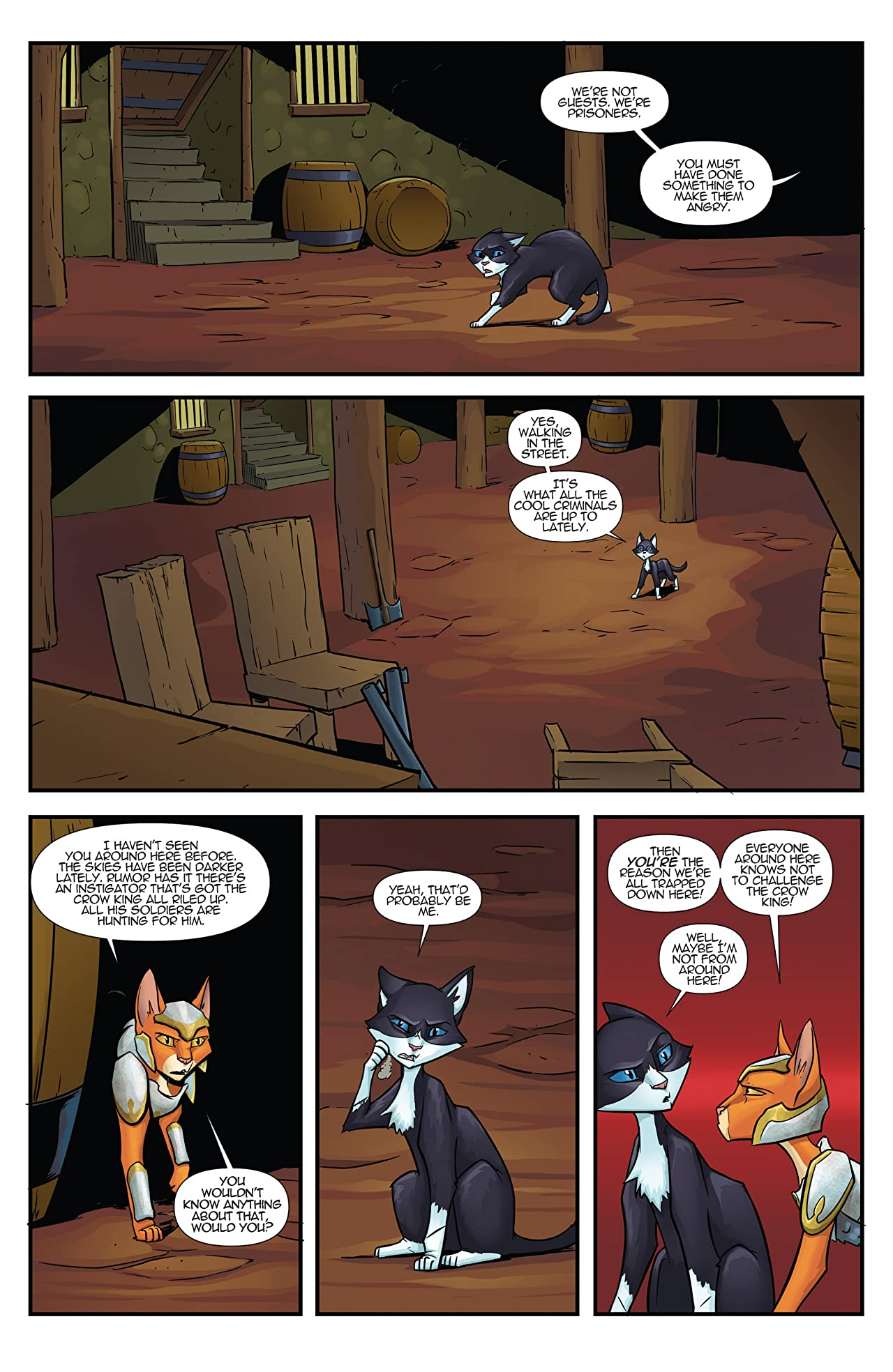 Hero Cats of Skyworld #17