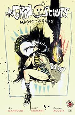 Grrl Scouts: Magic Socks #3