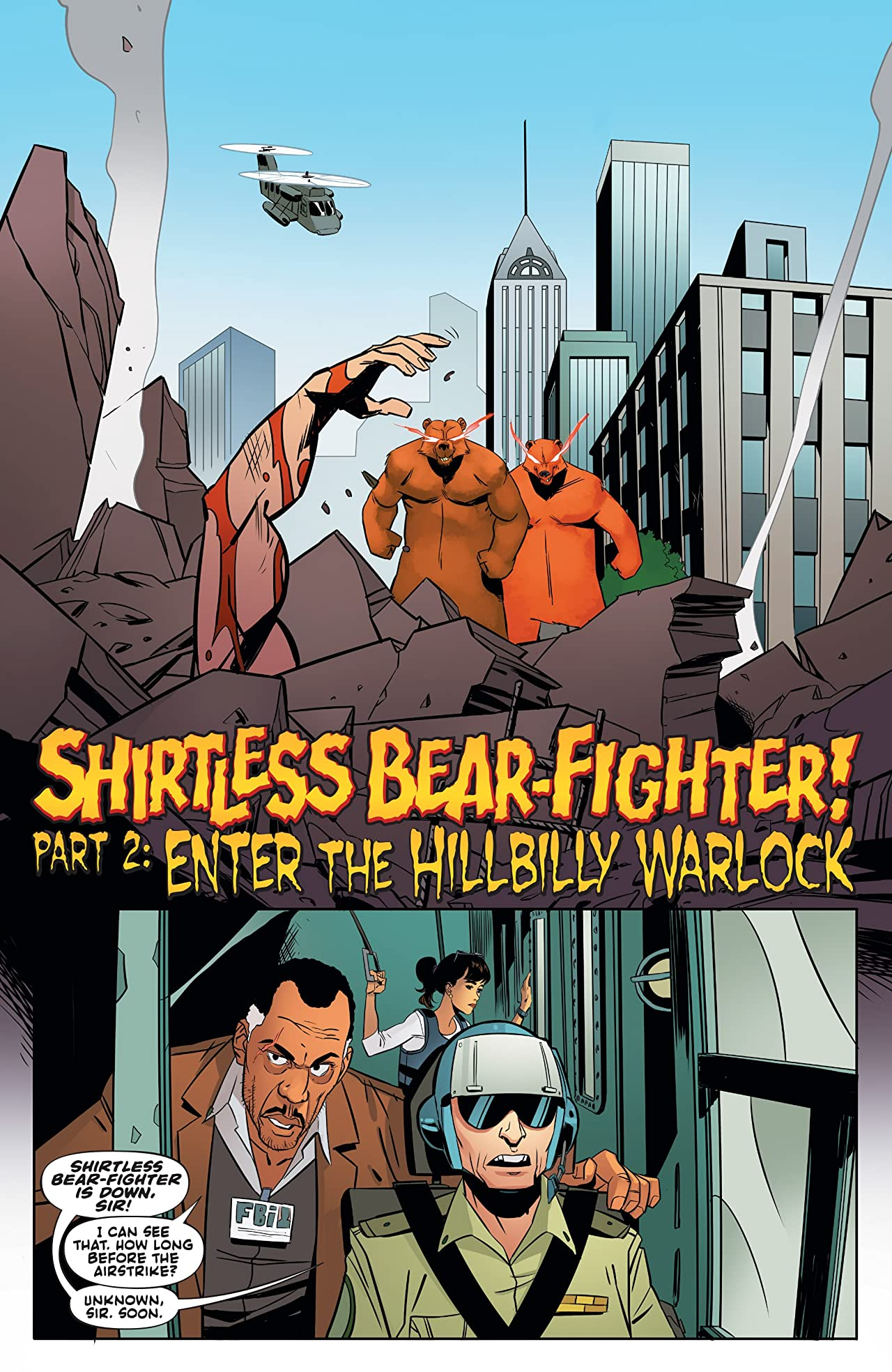 Shirtless Bear-Fighter! #2