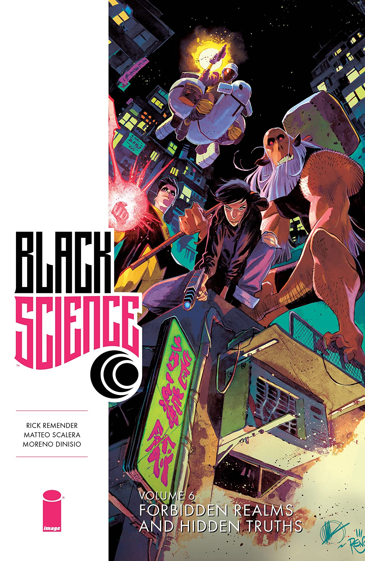 Black Science Tome 6: Forbidden Realms and Hidden Truths