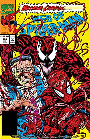 Web of Spider-Man (1985-1995) No.101