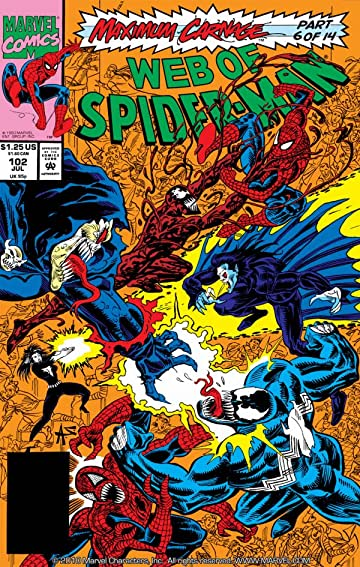 Web of Spider-Man (1985-1995) #102