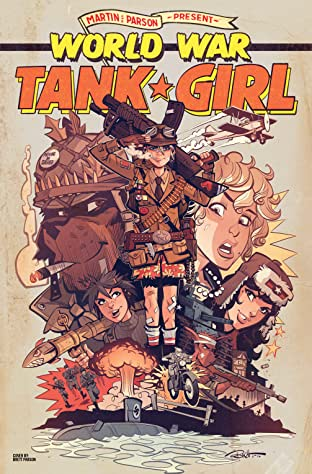 Tank Girl: World War Tank Girl No.4