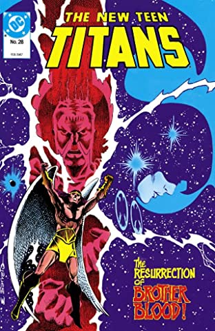 The New Teen Titans (1984-1996) #28