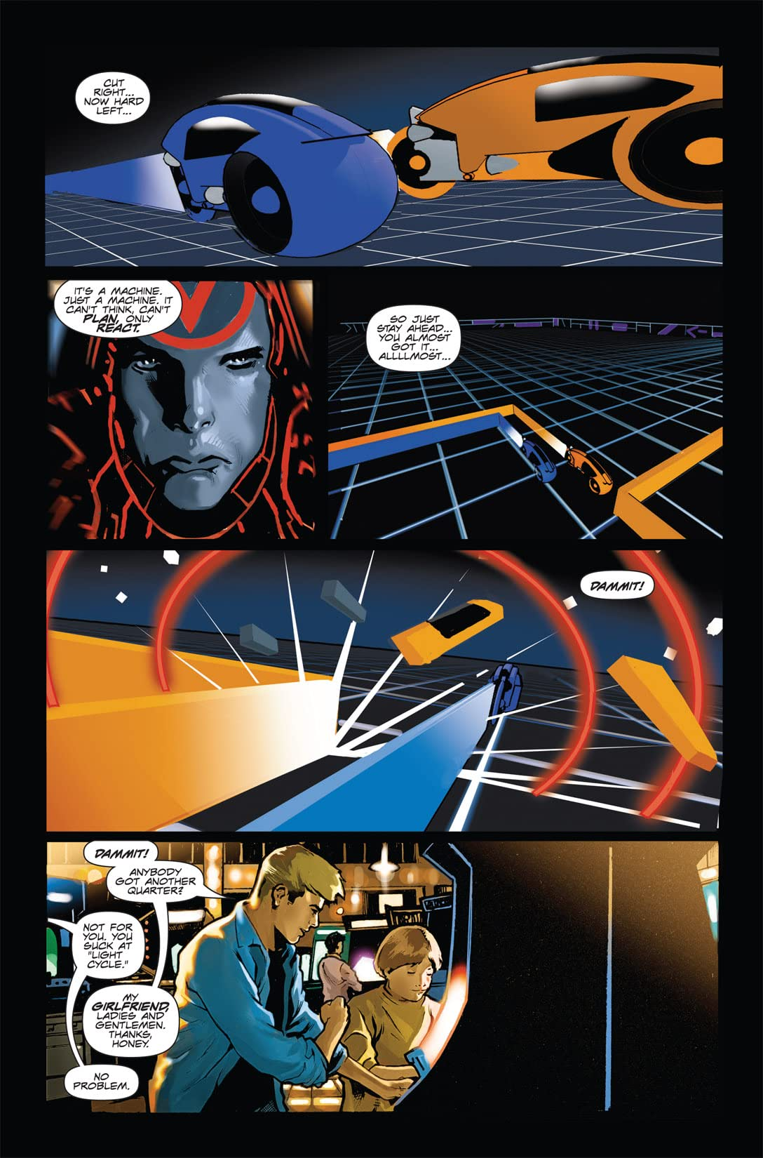 Tron: Original Movie Adaptation #1 (of 4)