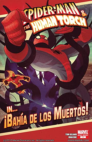 Spider-Man & The Human Torch in Bahia De Los Muertos #1
