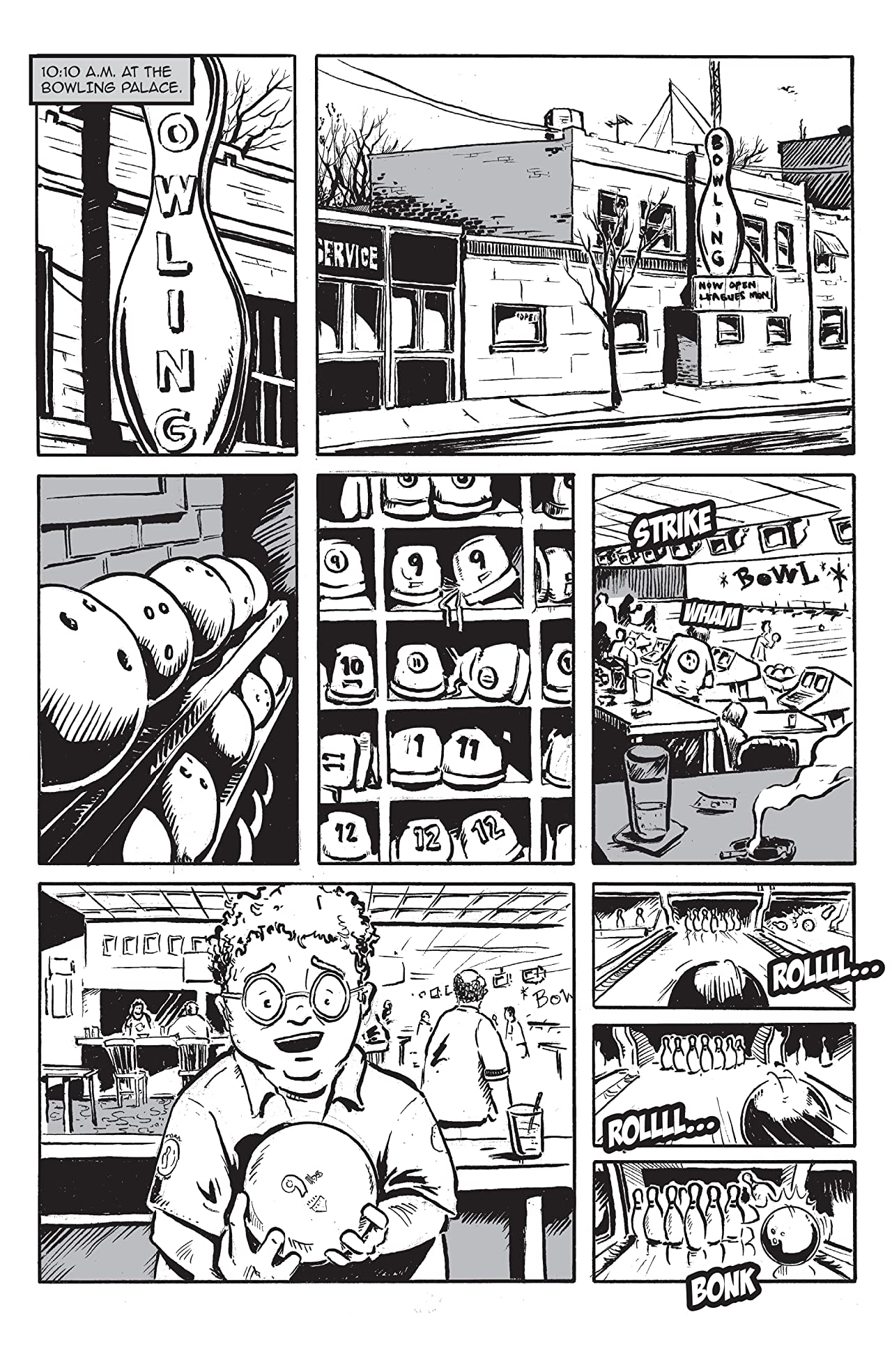 The Misadventures of The Bowling Ball #1