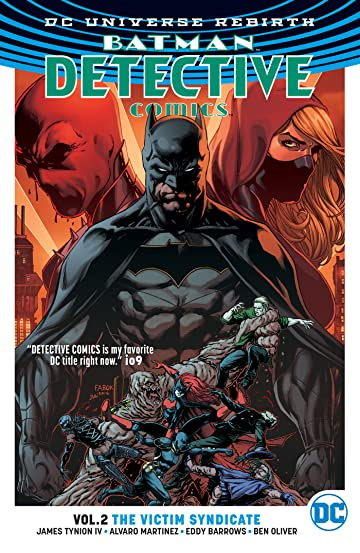 Batman - Detective Comics (2016-) Tome 2: The Victim Syndicate