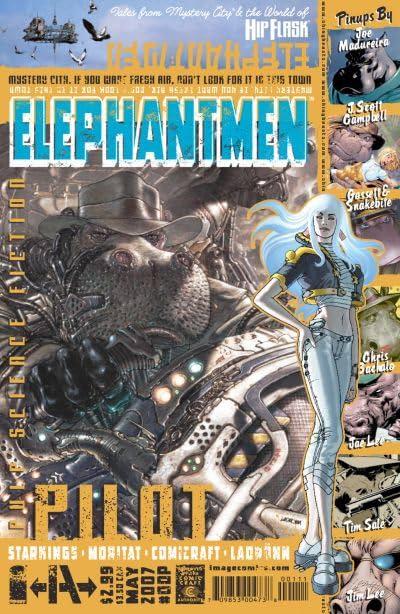 Elephantmen #9.5: Pilot