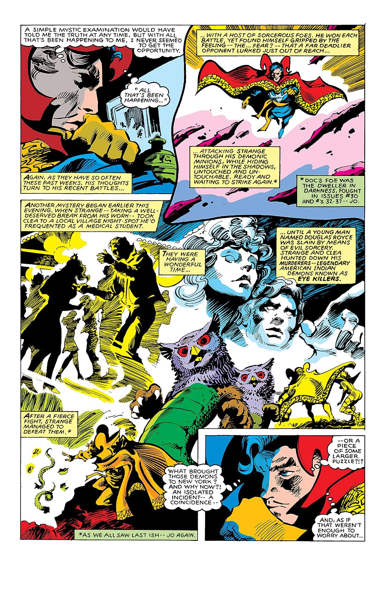 Doctor Strange (1974-1987) #39