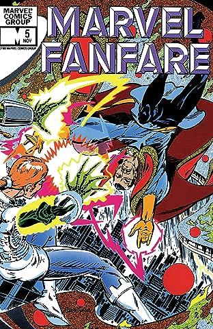 Marvel Fanfare (1982-1992) #5