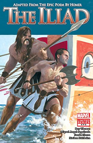 Marvel Illustrated: The Iliad (2007-2008) #5 (of 8)