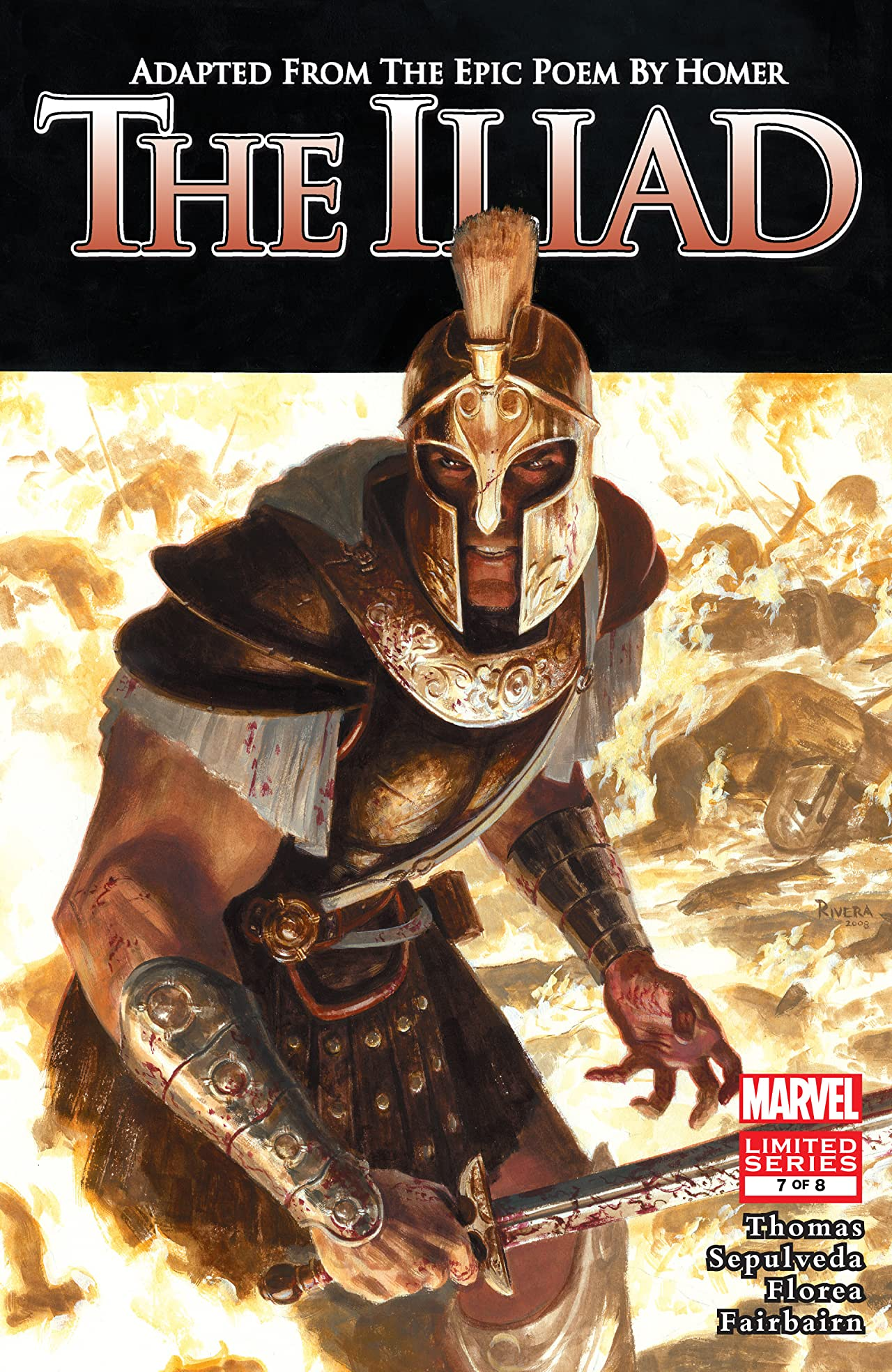 Marvel Illustrated: The Iliad (2007-2008) #7 (of 8)
