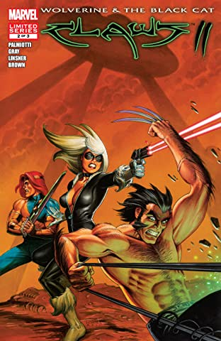 Wolverine & Black Cat: Claws 2 (2011) #2 (of 3)