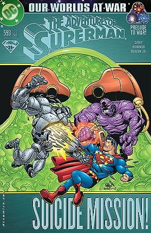 Adventures of Superman (1986-2006) #593