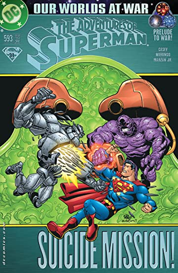Adventures of Superman (1986-2006) #593