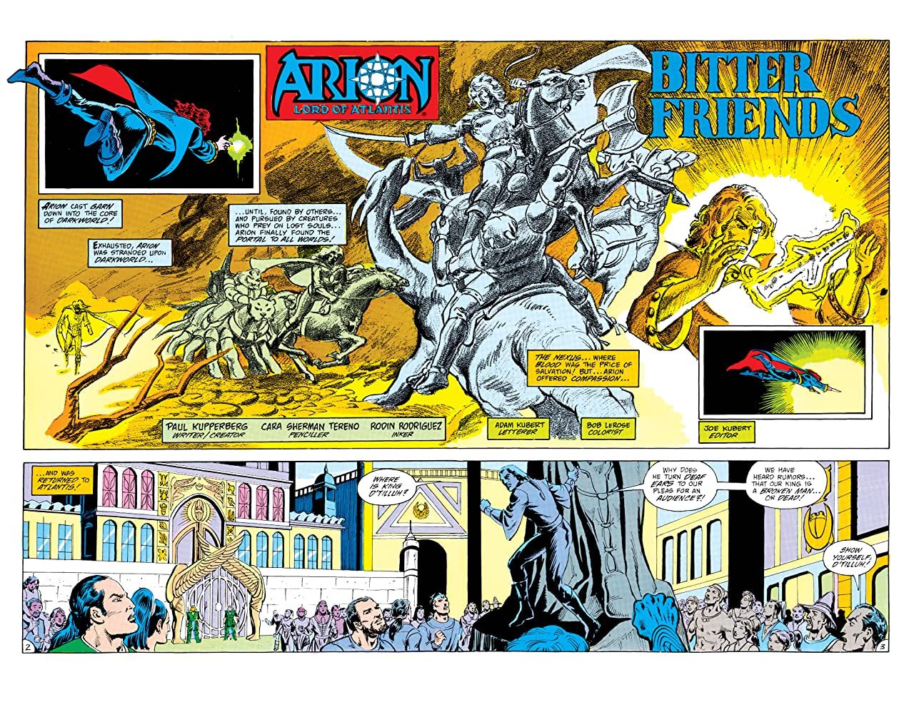 Arion, Lord of Atlantis (1982-1985) #26