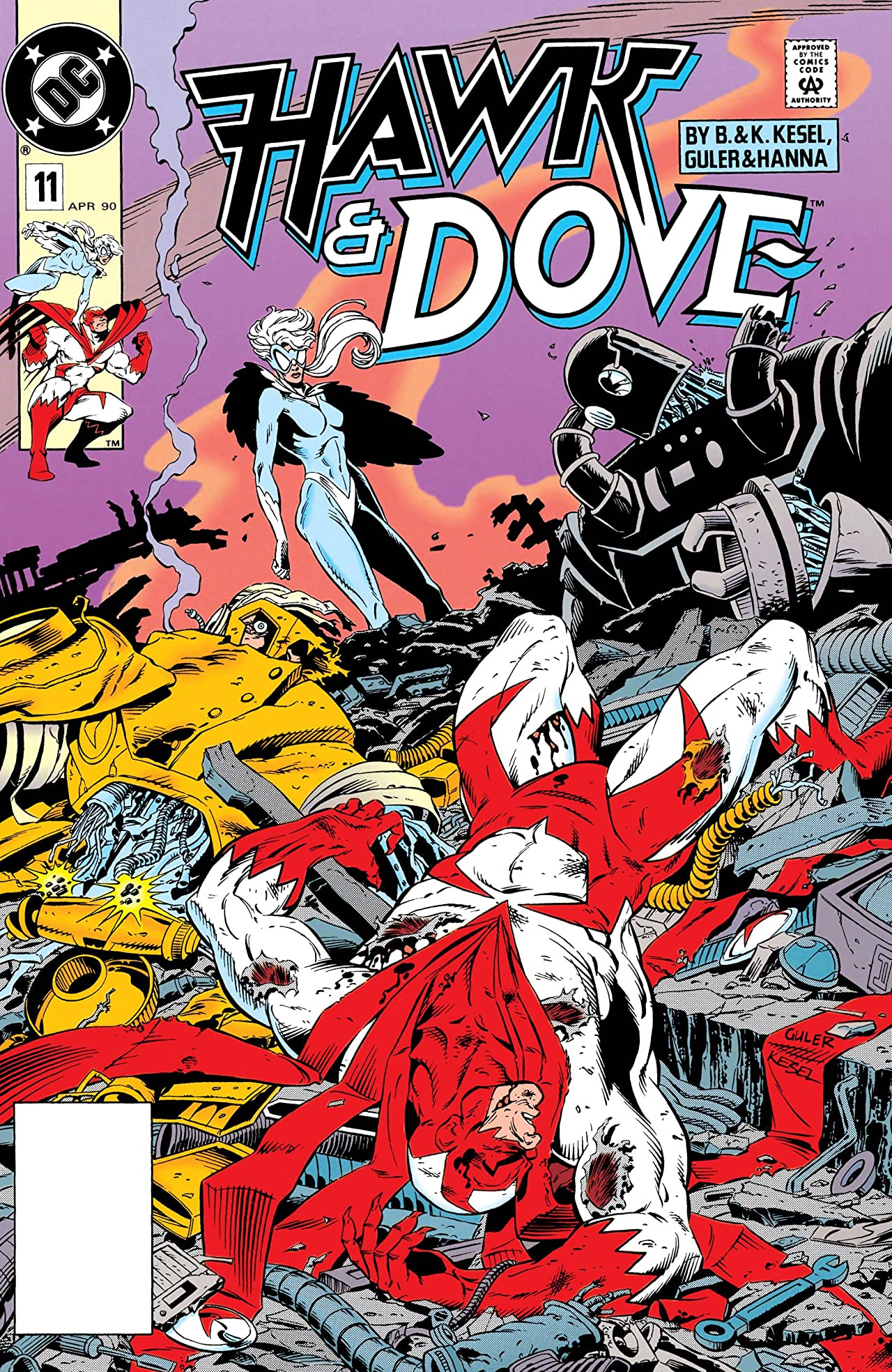 Hawk and Dove (1989-1991) #11