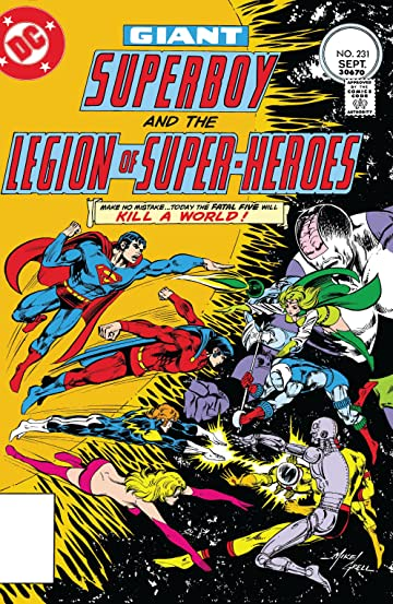 Superboy and the Legion of Super-Heroes (1949-1979) #231