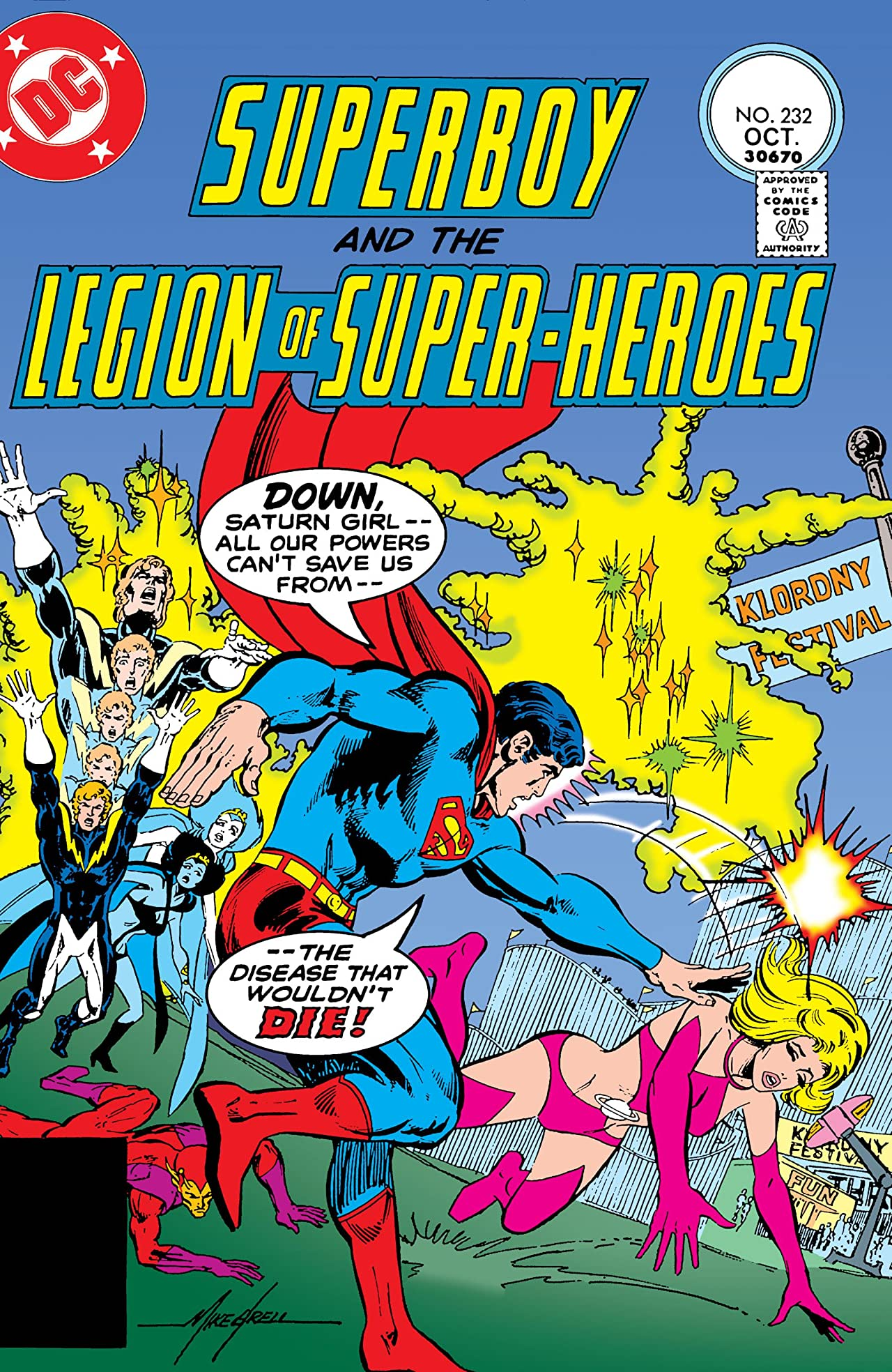 Superboy and the Legion of Super-Heroes (1949-1979) #232