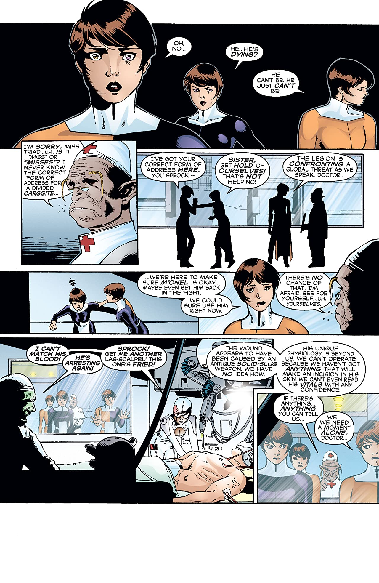 The Legion (2001-2004) #8