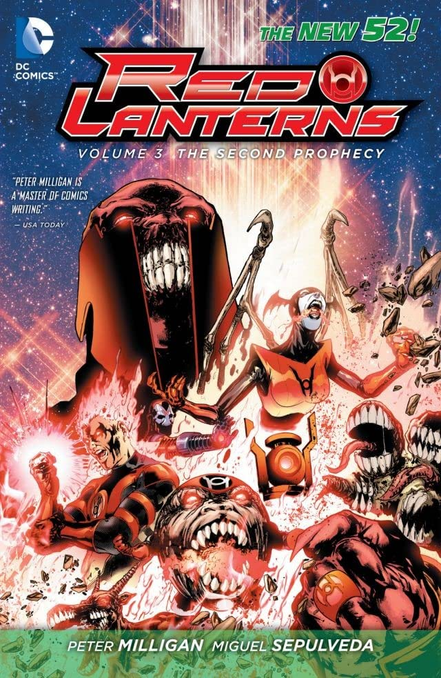 Red Lanterns (2011-2015) Vol. 3: The Second Prophecy
