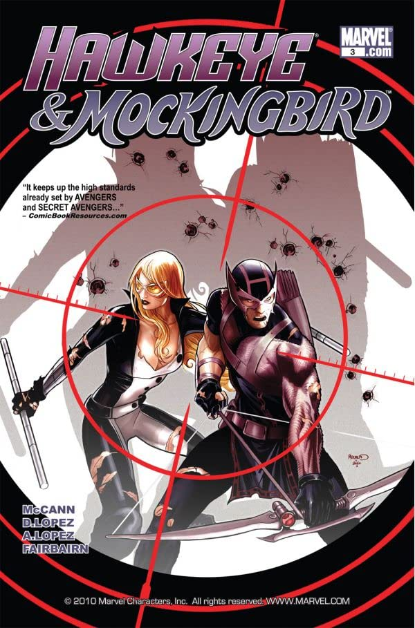 Hawkeye & Mockingbird #3