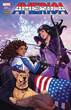 America (2017-2018) No.5