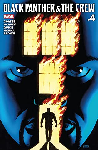 Black Panther And The Crew (2017) #4