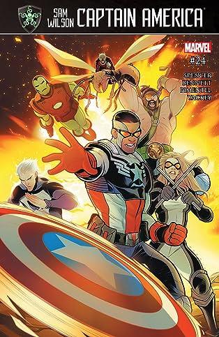 Captain America: Sam Wilson (2015-2017) #24