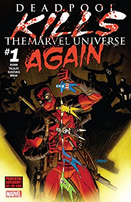 Deadpool Kills The Marvel Universe Again (2017) #1 (of 5)