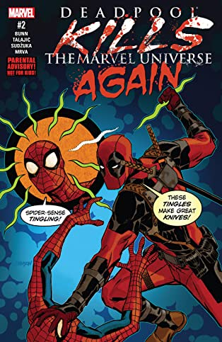 Deadpool Kills The Marvel Universe Again (2017) #2 (of 5)