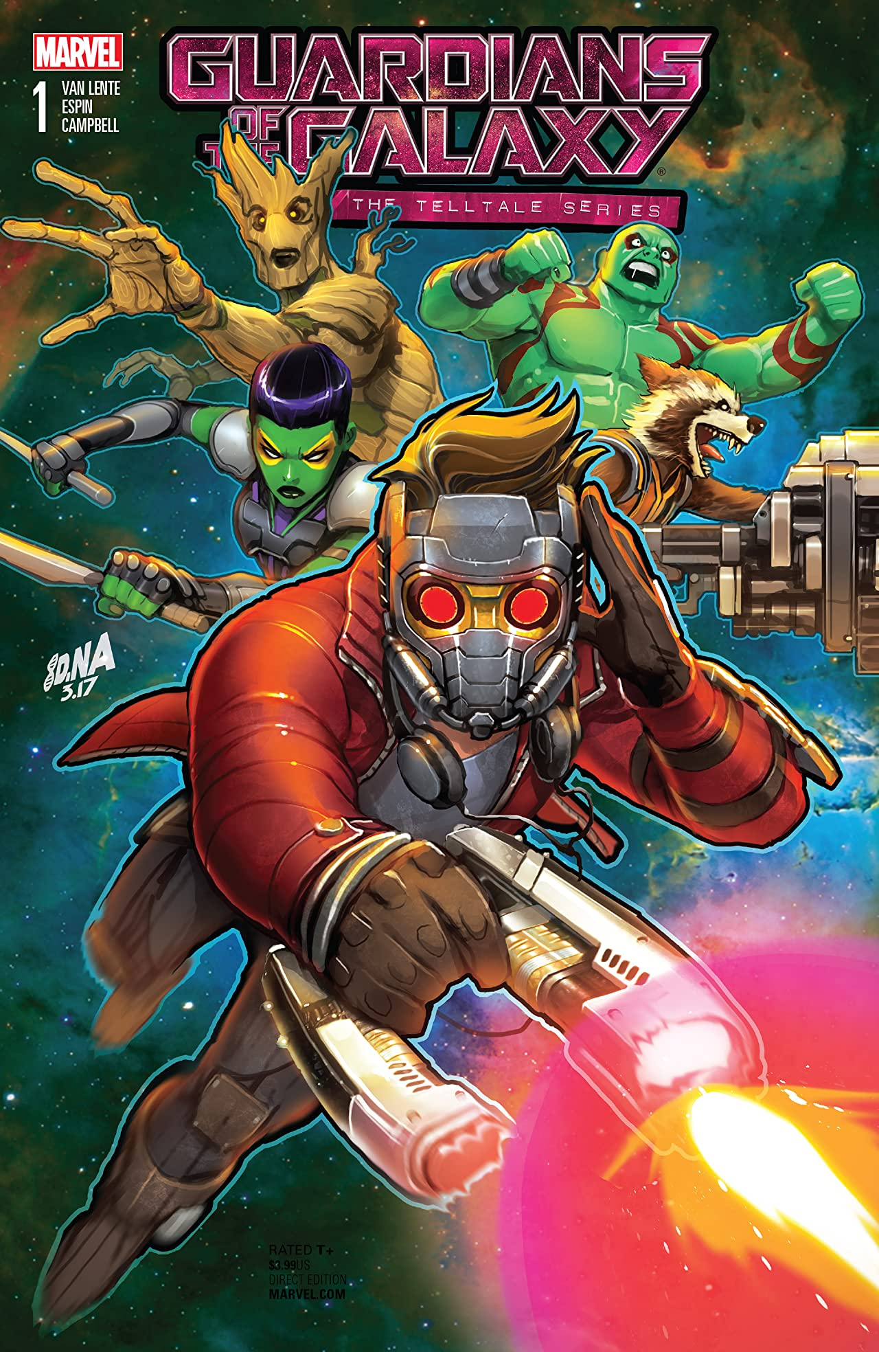 Guardians of the Galaxy: Telltale Games (2017) #1 (of 5)