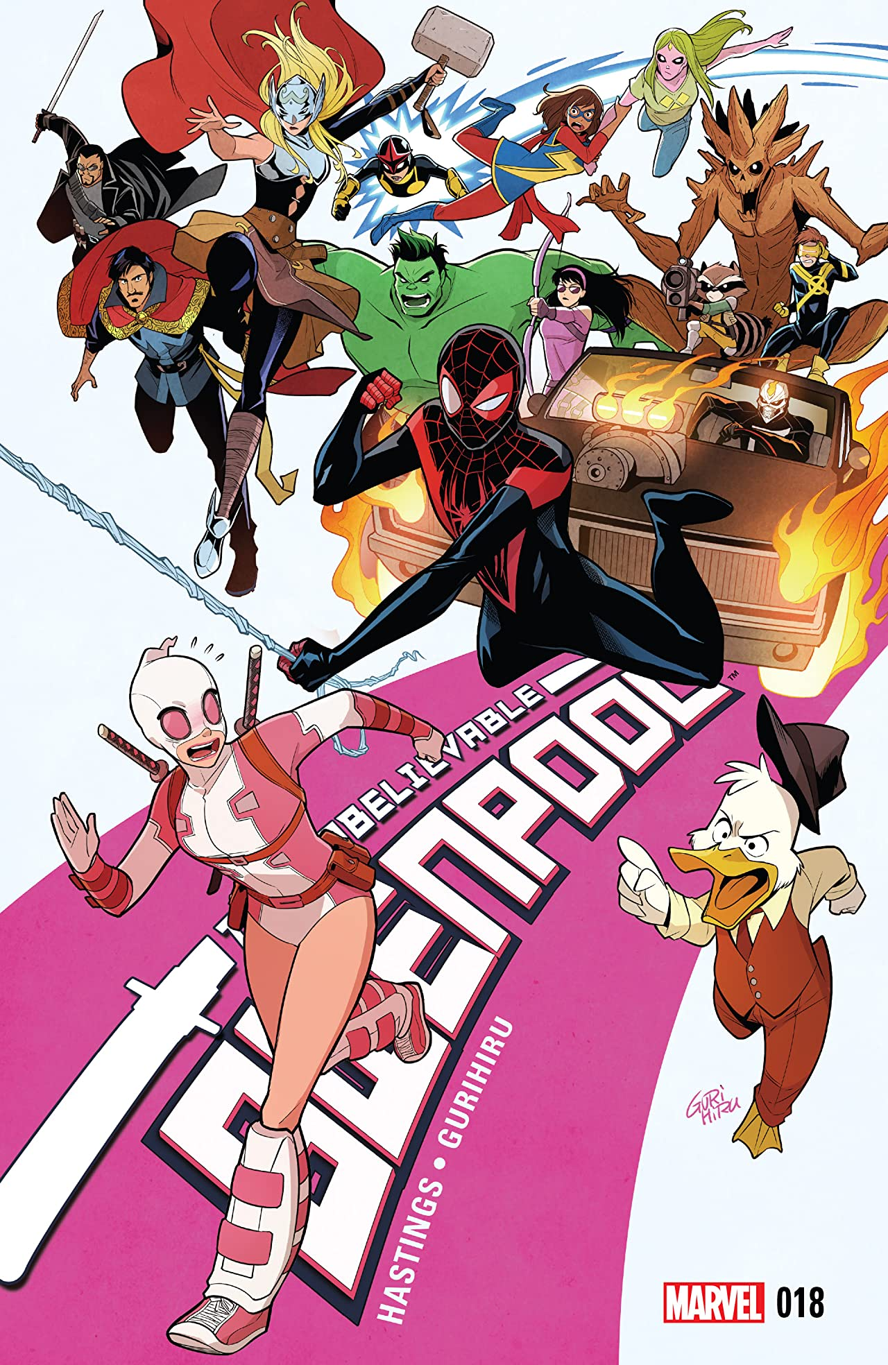 Gwenpool, The Unbelievable (2016-) #18