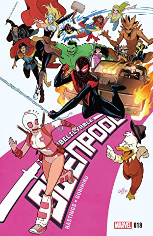 Gwenpool, The Unbelievable (2016-2018) #18